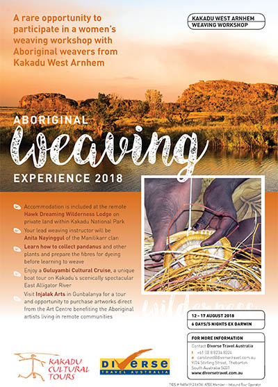 Kakadu Weaving Workshop
